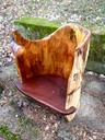 "log chair with arm rest""  $1200"